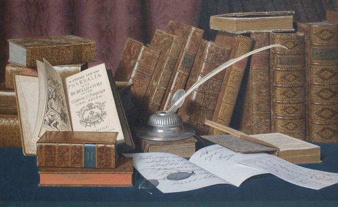 _L._Block_-_The_Bibliophile's_Desk
