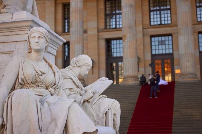 Schiller Monument / Konzerthaus steps, Berlin